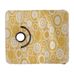 Wheels Star Gold Circle Yellow Galaxy S3 (flip/folio) by Alisyart