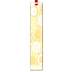 Wheels Star Gold Circle Yellow Large Book Marks