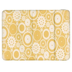 Wheels Star Gold Circle Yellow Samsung Galaxy Tab 7  P1000 Flip Case by Alisyart