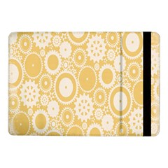 Wheels Star Gold Circle Yellow Samsung Galaxy Tab Pro 10 1  Flip Case by Alisyart