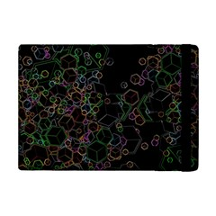 Boxs Black Background Pattern Ipad Mini 2 Flip Cases by Simbadda