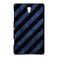 Stripes3 Black Marble & Blue Stone Samsung Galaxy Tab S (8 4 ) Hardshell Case  by trendistuff