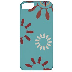 Fish Animals Star Brown Blue White Apple Iphone 5 Classic Hardshell Case