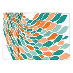 Fish Color Rainbow Orange Blue Animals Sea Beach Samsung Galaxy Tab 10 1  P7500 Flip Case by Alisyart