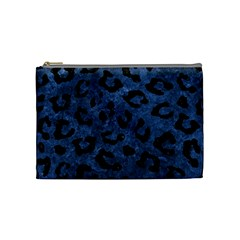 Skin5 Black Marble & Blue Stone Cosmetic Bag (medium) by trendistuff
