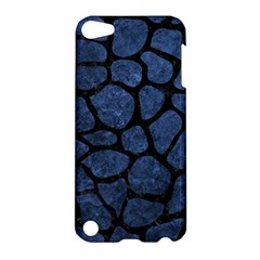Skin1 Black Marble & Blue Stone Apple Ipod Touch 5 Hardshell Case by trendistuff