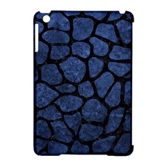 Skin1 Black Marble & Blue Stone Apple Ipad Mini Hardshell Case (compatible With Smart Cover) by trendistuff