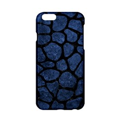 Skin1 Black Marble & Blue Stone Apple Iphone 6/6s Hardshell Case by trendistuff