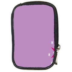 Purple Flagred White Star Compact Camera Cases by Alisyart