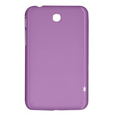 Purple Flagred White Star Samsung Galaxy Tab 3 (7 ) P3200 Hardshell Case