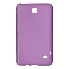 Purple Flagred White Star Samsung Galaxy Tab 4 (7 ) Hardshell Case  by Alisyart