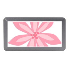 Pink Lily Flower Floral Memory Card Reader (mini)