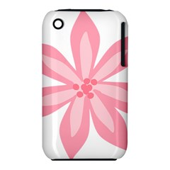 Pink Lily Flower Floral Iphone 3s/3gs by Alisyart