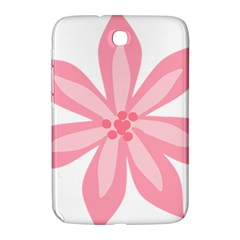 Pink Lily Flower Floral Samsung Galaxy Note 8 0 N5100 Hardshell Case  by Alisyart