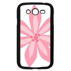 Pink Lily Flower Floral Samsung Galaxy Grand Duos I9082 Case (black) by Alisyart
