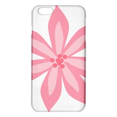 Pink Lily Flower Floral Iphone 6 Plus/6s Plus Tpu Case