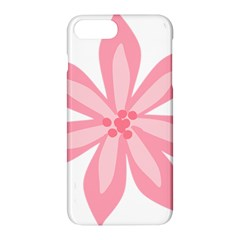 Pink Lily Flower Floral Apple Iphone 7 Plus Hardshell Case