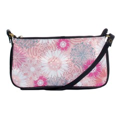 Flower Floral Sunflower Rose Pink Shoulder Clutch Bags by Alisyart