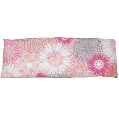 Flower Floral Sunflower Rose Pink Body Pillow Case Dakimakura (two Sides)