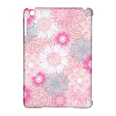 Flower Floral Sunflower Rose Pink Apple Ipad Mini Hardshell Case (compatible With Smart Cover)