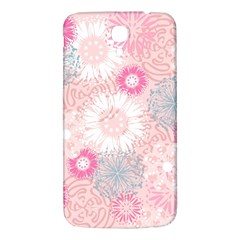 Flower Floral Sunflower Rose Pink Samsung Galaxy Mega I9200 Hardshell Back Case by Alisyart