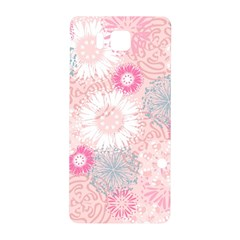 Flower Floral Sunflower Rose Pink Samsung Galaxy Alpha Hardshell Back Case by Alisyart