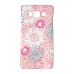 Flower Floral Sunflower Rose Pink Samsung Galaxy A5 Hardshell Case