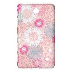 Flower Floral Sunflower Rose Pink Samsung Galaxy Tab 4 (7 ) Hardshell Case  by Alisyart