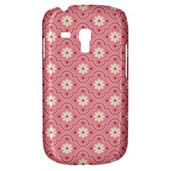 Pink Flower Floral Galaxy S3 Mini by Alisyart