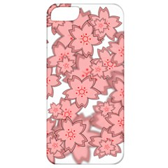 Flower Floral Pink Apple Iphone 5 Classic Hardshell Case