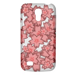 Flower Floral Pink Galaxy S4 Mini by Alisyart