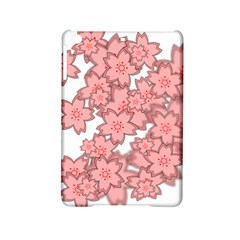 Flower Floral Pink Ipad Mini 2 Hardshell Cases by Alisyart
