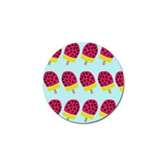 Watermelonn Red Yellow Blue Fruit Ice Golf Ball Marker (4 Pack) by Alisyart