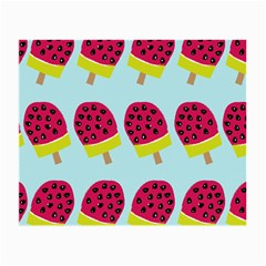 Watermelonn Red Yellow Blue Fruit Ice Small Glasses Cloth