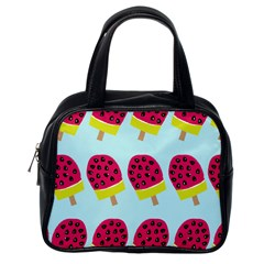 Watermelonn Red Yellow Blue Fruit Ice Classic Handbags (one Side) by Alisyart