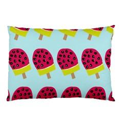Watermelonn Red Yellow Blue Fruit Ice Pillow Case