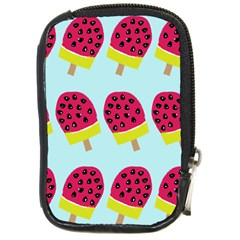 Watermelonn Red Yellow Blue Fruit Ice Compact Camera Cases by Alisyart