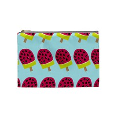 Watermelonn Red Yellow Blue Fruit Ice Cosmetic Bag (medium)  by Alisyart