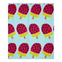 Watermelonn Red Yellow Blue Fruit Ice Shower Curtain 60  X 72  (medium)  by Alisyart