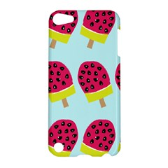 Watermelonn Red Yellow Blue Fruit Ice Apple Ipod Touch 5 Hardshell Case by Alisyart