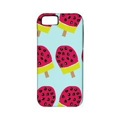 Watermelonn Red Yellow Blue Fruit Ice Apple Iphone 5 Classic Hardshell Case (pc+silicone) by Alisyart