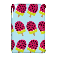 Watermelonn Red Yellow Blue Fruit Ice Apple Ipad Mini Hardshell Case (compatible With Smart Cover) by Alisyart