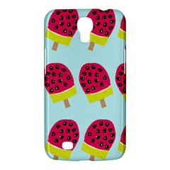 Watermelonn Red Yellow Blue Fruit Ice Samsung Galaxy Mega 6 3  I9200 Hardshell Case