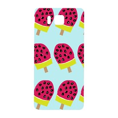 Watermelonn Red Yellow Blue Fruit Ice Samsung Galaxy Alpha Hardshell Back Case by Alisyart