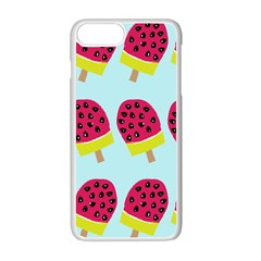 Watermelonn Red Yellow Blue Fruit Ice Apple Iphone 7 Plus White Seamless Case by Alisyart