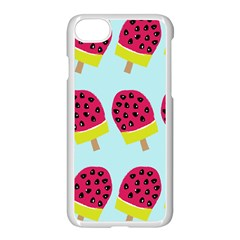 Watermelonn Red Yellow Blue Fruit Ice Apple Iphone 7 Seamless Case (white) by Alisyart