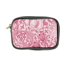 Vintage Style Floral Flower Pink Coin Purse by Alisyart