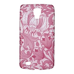 Vintage Style Floral Flower Pink Galaxy S4 Active by Alisyart
