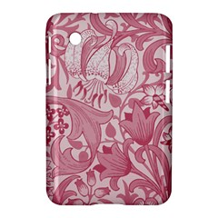 Vintage Style Floral Flower Pink Samsung Galaxy Tab 2 (7 ) P3100 Hardshell Case  by Alisyart