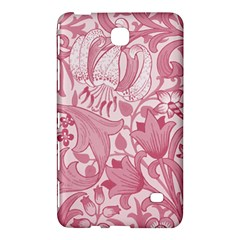 Vintage Style Floral Flower Pink Samsung Galaxy Tab 4 (8 ) Hardshell Case  by Alisyart